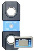 44929996 Precyzyjny dynamometr z wyświetlaczem do pomiaru sił rozciągających oraz ciężaru zawieszonych ładunków Tractel® Dynafor™ LLXH (udźwig: 50 T)