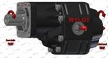 72355199 Pompa hydrauliczna zębata do wywrotu - lewy kierunek obrotów (objętość geometryczna: 109 cm3/obr, zakres obr: 250-1500, ciśnienie nominalne: 25 MPa)