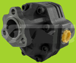 72355201 Pompa hydrauliczna zębata do wywrotu - lewy kierunek obrotów (objętość geometryczna: 109 cm3/obr, zakres obr: 300-1500, ciśnienie nominalne: 25 MPa)