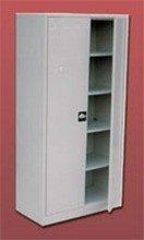 77157057 Szafa biurowa, 2 drzwi, 4 półki regulowane (wymiary: 2000x800x460 mm)