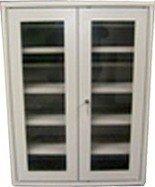 77157201 Szafka narzędziowa przeszklona, 4 regulowane półki (wymiary: 1000x800x300 mm)