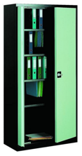 99551699 Szafa biurowa 1,0mm, 2 drzwi, 4 półki (wymiary: 1990x1000x435 mm)