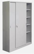 99551714 Szafa biurowa 1,0mm, 2 drzwi, 4 półki (wymiary: 1990x1200x435 mm)
