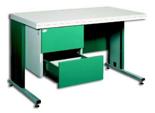 99551871 Biurko, 2 szuflady (wymiary: 740x1400x800 mm)
