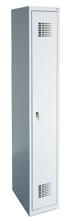 99551967 Szafka ubraniowa 0,8mm, 1 drzwi, zamek cylindryczny zamykany w 3 punktach (wymiary: 1800x400x500 mm)
