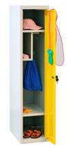 99552322 Szafka dla przedszkolaków, 1 drzwi, wersja lux (wymiary: 1350x300x500 mm)