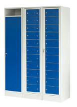 99552376 Szafa do przechowywania czystej i brudnej odzieży, 1 drzwi, 22 szuflady (wymiary: 1900x1225x500 mm)