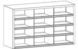 99552510 Szafa warsztatowa, 12 skrytek (wymiary: 900x1500x500 mm)