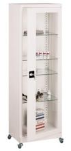 99552549 Szafa lekarska na kółkach, 4 półki, 1 drzwi (wymiary: 1890x600x435 mm)