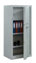 99552598 Szafa - wzmocniona, 2 półki, 1 drzwi, 1 skarbczyk (wymiary: 1500x700x460 mm)