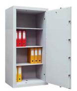 99552664 Sejf gabinetowy dwupłaszczowy 0 klasy, 3 półki, 1 drzwi (wymiary: 1400x540x435 mm)