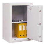 99552667 Sejf gabinetowy dwupłaszczowy I klasy, 1 półka, 1 drzwi (wymiary: 650x600x520 mm)