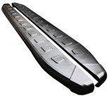 DOSTAWA GRATIS! 01655962 Stopnie boczne, czarne - Opel Vivaro 2014+ long (długość: 252 cm)
