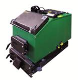 DOSTAWA GRATIS! 06652794 Kocioł załadunku ręcznego 40kW z czujnikiem temperatury spalin oraz sterownikiem (paliwo: węgiel, drewno, miał)