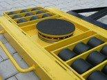 DOSTAWA GRATIS! 12235609 Wózek skrętny 18 rolkowy, rolki: 18x nylon (nośność: 14 T)