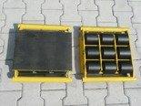 DOSTAWA GRATIS! 12267450 Zestaw wózków, rolki: 34x stal (nośność: 58 T)
