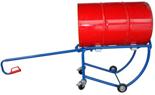 DOSTAWA GRATIS! 13340558 Wózek czterokołowy ręczny do przewozu stalowych beczek (nośność: 300 kg)