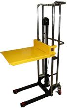 DOSTAWA GRATIS! 13360488 Wózek podnośnikowy masztowy ręczny (udźwig: 400 kg, wysokość podnoszenia: 1500 mm), wymiary platformy: 650x576 mm)
