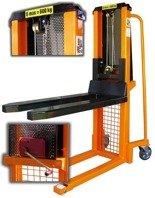 DOSTAWA GRATIS! 13362110 Wózek podnośnikowy masztowy z (udźwig: 600 kg, wysokość podnoszenia: 90-1300mm)