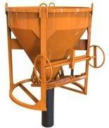 DOSTAWA GRATIS! 25264098 Pojemnik do betonu z wylewem prostym (pojemność: 0,50 m3)