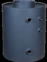 DOSTAWA GRATIS! 30041169 Turbodym wodny nagrzewnica pionowa do 9kW (pojemność wody: 26 L)