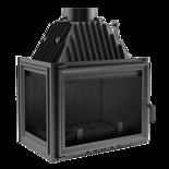 DOSTAWA GRATIS! 30046749 Wkład kominkowy 16kW Zuzia (lewa boczna szyba)