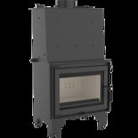 DOSTAWA GRATIS! 30046805 Wkład kominkowy 12kW AQUARIO Z14 PW  z płaszczem wodnym, wężownicą (szyba prosta) - spełnia Ekoprojekt
