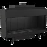 DOSTAWA GRATIS! 30047787 Wkład kominkowy na gaz 4,3-9,2kW LEO 100 na gaz techniczny LPG (szyba prosta)