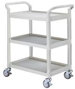 DOSTAWA GRATIS! 39955495 Wózek warsztatowy, 3 półki