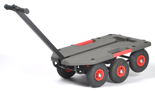 DOSTAWA GRATIS! 39955529 Wózek do transportu z uchwytem (wymiary: 985x640x350mm)