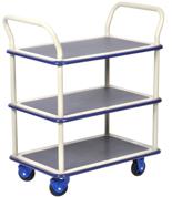 DOSTAWA GRATIS! 39955537 Wózek warsztatowy, 3 półki (wymiary: 740x480x1090mm)