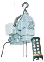 DOSTAWA GRATIS! 44929805 Przenośna wciągarka silnikowa Tractel® Minifor TR10, sterowanie radiowe, 230V (udźwig: 100/200 kg)
