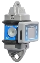 DOSTAWA GRATIS! 44929989 Precyzyjny dynamometr z wyświetlaczem do pomiaru sił rozciągających oraz ciężaru zawieszonych ładunków Tractel® Dynafor™ LLX2 (udźwig: 2 T)