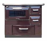 DOSTAWA GRATIS! 50066965 Kuchnia węglowa z piekarnikiem 9,5-16kW na drewno i węgiel (kolor: brązowy)