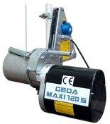 DOSTAWA GRATIS! 62566946 Wyciągarka linowa obrotowa Geda Maxi 120S 81m + ramię obrotowe (udźwig: 120 kg, moc: 0,45/1,35kW)