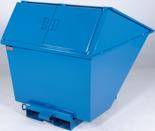 DOSTAWA GRATIS! 99724683 Pojemnik wychylny z pokrywą GermanTech TL 400 (pojemność: 320 L)