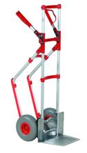 DOSTAWA GRATIS! 99746700 Wózek taczkowy do transportu, aluminiowy GermanTech A 106 (udźwig: 250 kg)