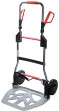 DOSTAWA GRATIS! 99746704 Wózek taczkowy do transportu, składany aluminiowy GermanTech RuXXac-cart (udźwig: 250 kg)