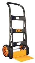 DOSTAWA GRATIS! 99746705 Wózek taczkowy do transportu, składany GermanTech Light Lift (udźwig: 150 kg)