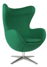 DOSTAWA GRATIS! 99851003 Fotel Jajo inspirowany Egg szeroki wełna (kolor: zielony)