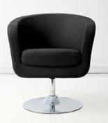 DOSTAWA GRATIS! 99851051 Fotel obrotowy Magnum (kolor: biały/czarny)
