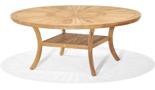 DOSTAWA GRATIS! 99855617 Stół okrągły z drewna tekowego Komodo 180