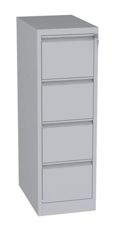 00150472 Szafa kartotekowa na teczki A5 pionowe, 2 rzędy, 4 szuflady (wymiary: 1280x415x630 mm)