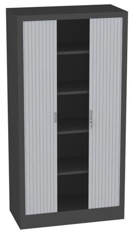 00150693 Szafa żaluzjowa, 4 półki (wymiary: 1950x1000x600 mm)