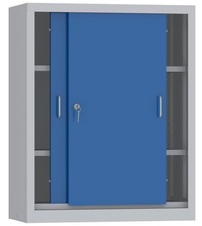 00150812 Szafa przesuwna niska, 2 półki (wymiary: 1000x800x600 mm)