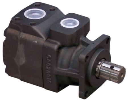 01539203 Pompa hydrauliczna łopatkowa B&C HQ02G17 (objętość geometryczna: 55,2 cm³, maksymalna prędkość obrotowa: 2500 min-1 /obr/min)