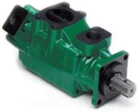 01539211 Pompa hydrauliczna łopatkowa dwustrumieniowa B&C HQ31G2412 (objętość geometryczna: 78,3+39,5 cm³, maksymalna prędkość obrotowa: 2500 min-1 /obr/min)