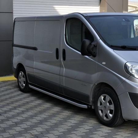 01655760 Stopnie boczne - Renault Trafic 2001-2014 long (długość: 252 cm)