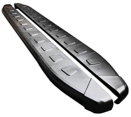 01655924 Stopnie boczne, czarne - Kia Sportage 2010- (długość: 171 cm)