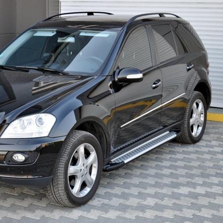01656045 Stopnie boczne - Mercedes ML W166 2012- (długość: 193 cm)